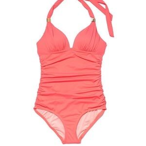Victoria's Secret The Forever One Piece Hot Coral